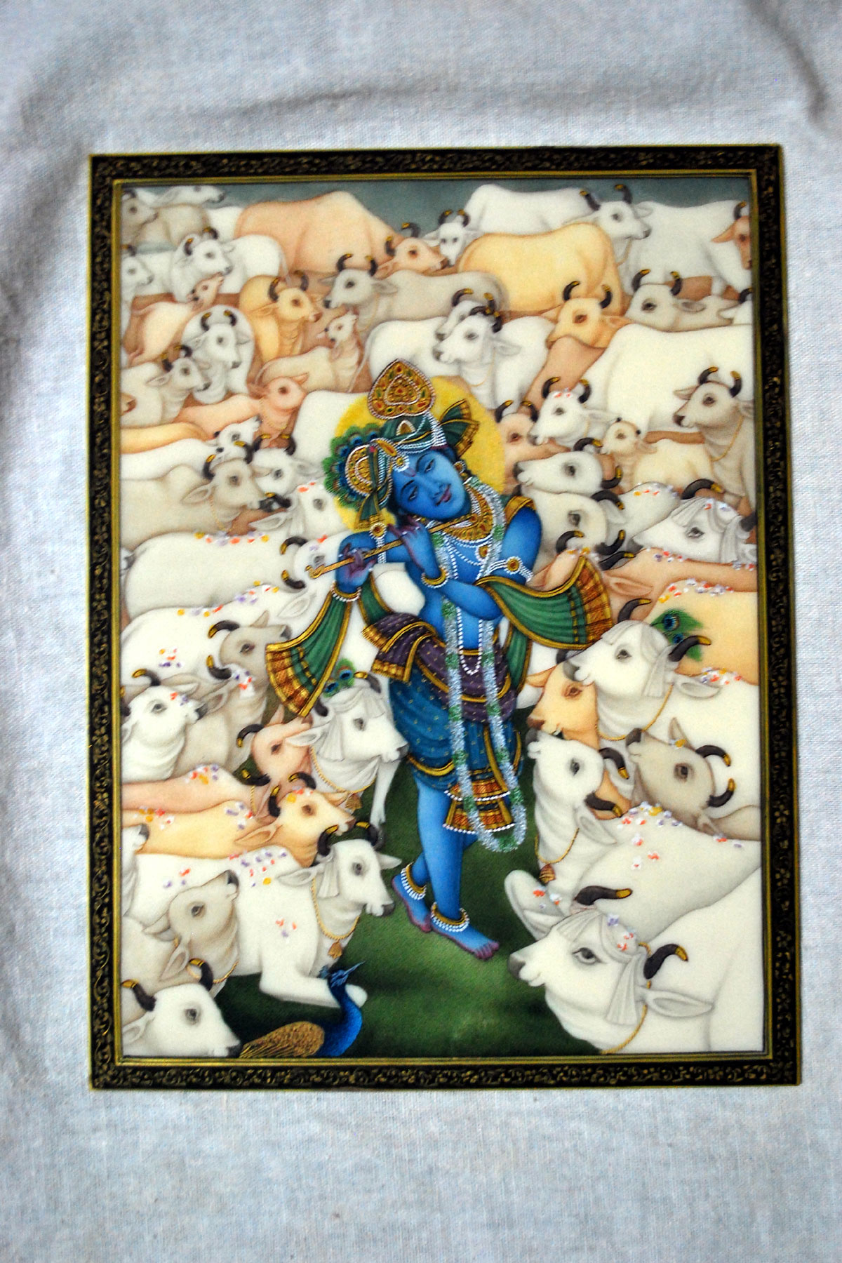 Krishan Miniature Painting